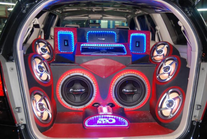 Dịch vụ độ âm thanh cho xe ôtô - xe hơi